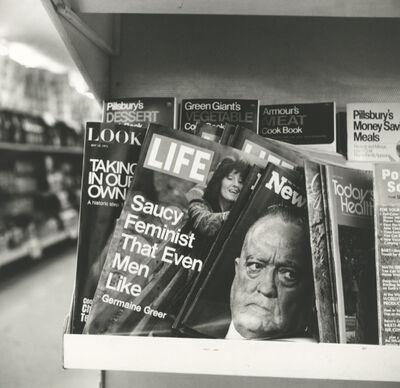 Vivian Maier, 'Magazines (0129371)', 1971