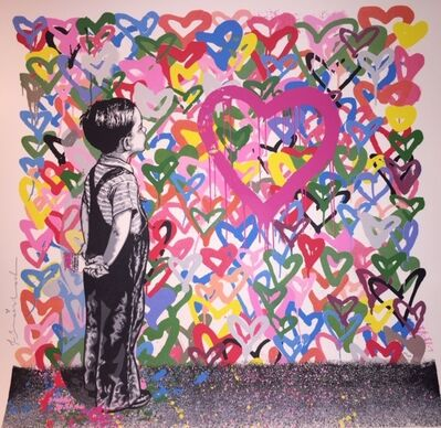 Mr. Brainwash, 'With All My Love', 2016