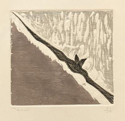 Francisco Toledo, 'Bat in Flight', ca. 1985