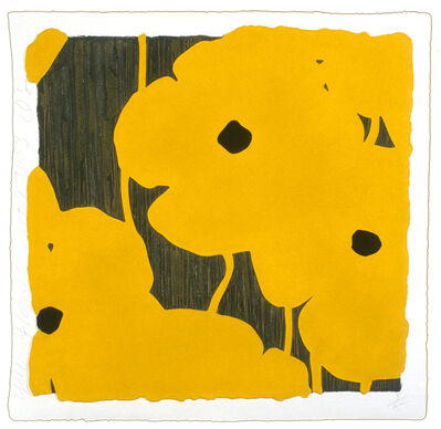 Donald Sultan, 'Yellow Flowers', 2003