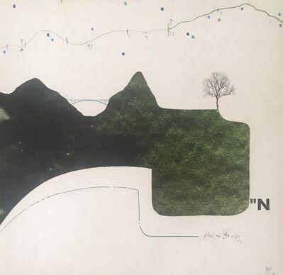 Manu vb Tintoré, 'petit paysage 17', 2020