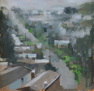 Gage Opdenbrouw, 'Turtle Hill in the Rain', 2010