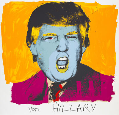 Deborah Kass, 'Vote Hillary', 2015