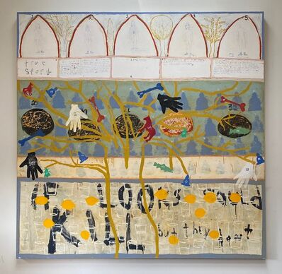 Squeak Carnwath, 'True Story, A Dream', 1994-1999