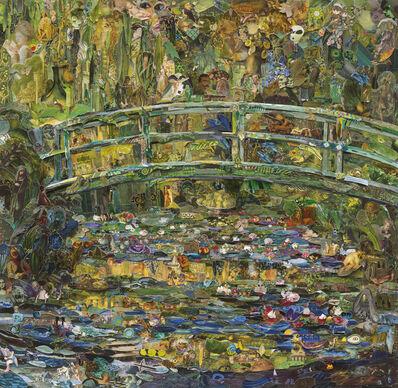 Vik Muniz, 'Pola Museum of Art (Water Lily Pond, after Claude Monet)', 2016