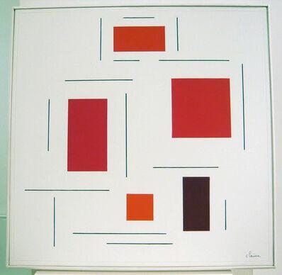 Geneviève Claisse, 'Dépendance de saveur rouge ', 2004