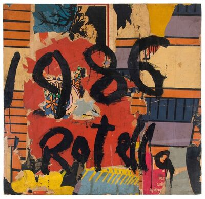 Mimmo Rotella, 'Untitled', 1986
