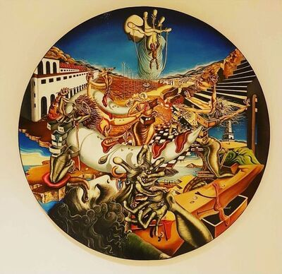 Madame Dali, 'Horn of Plenty,or Woman sience of 21-th', 2012