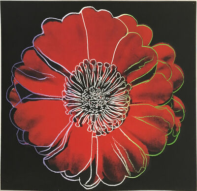 Andy Warhol, 'Flower for Tacoma Dome', ca. 1982