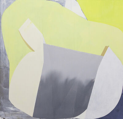 Marcelyn McNeil, 'Yellow Gold Gray'