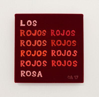 Carlos Castro Arias, 'Los rojos', 2017