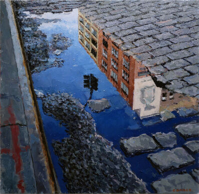 Richard Combes, '14th Street Reflection', 2014