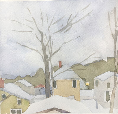 Sara MacCulloch, 'Winter Rooftops', 2017