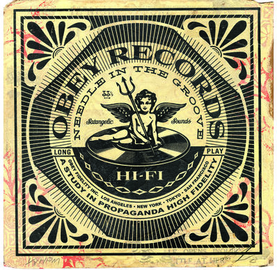 Shepard Fairey, 'Satangelic Sounds', 2013