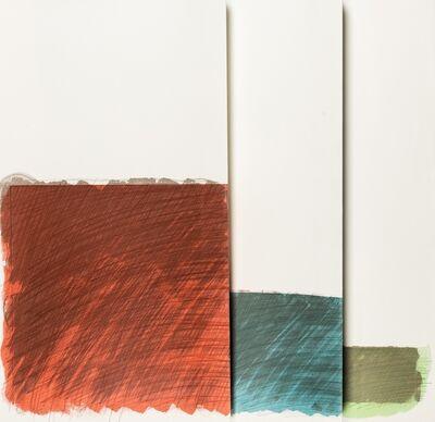 Richard Smith, 'Folded Paper Clip I', 1975