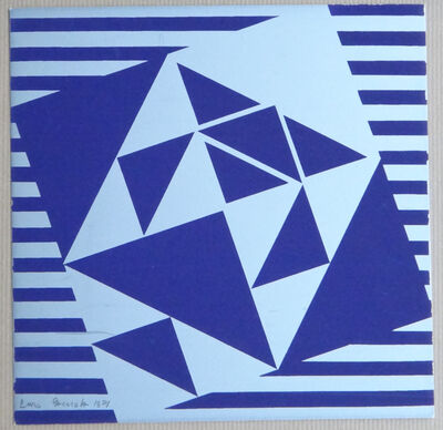 """Enzo Cacciola, '""""Composition""""', 1971"""