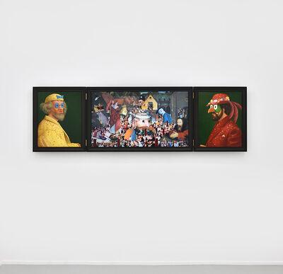Antoine Roegiers, 'Carnavals (Retable)', 2019