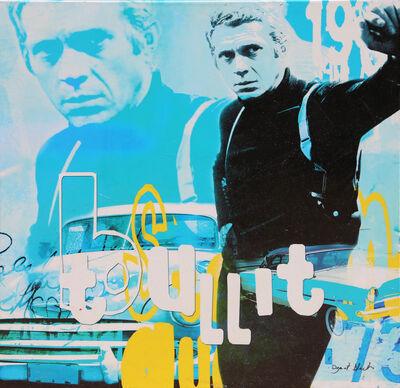 "Dganit Blechner, '""Steve McQueen - Bullit"" Screenprint on Canvas by Dganit Blechner', ca. 2005"