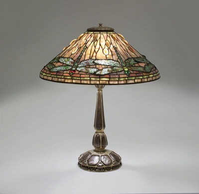 Tiffany Studios, ''Dragonfly' Table Lamp', circa 1910