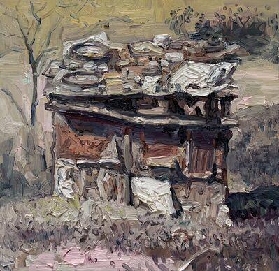 Hung Liu, 'Duster Shack 7', 2019