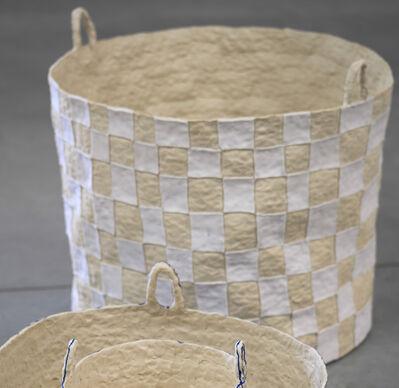 Brittany Mojo, 'Checkered Basket', 2020