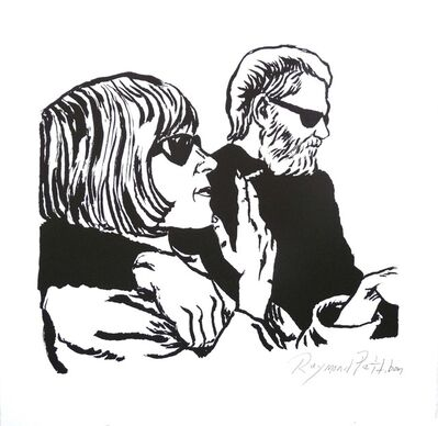 Raymond Pettibon, 'Untitled (Kim and Dan)', 2015
