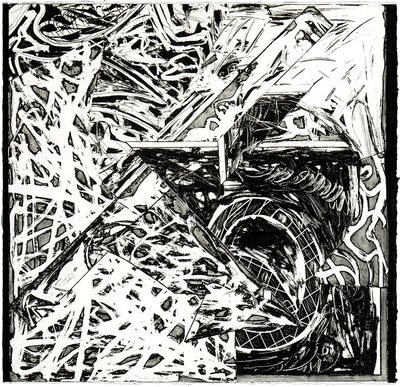 Frank Stella, 'Swan Engraving Square III', 1982