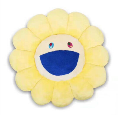 Takashi Murakami, 'FLOWER CUSHION 60CM YELLOW', 2018