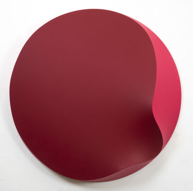 Jan Kaláb, 'Melted Circle (Red)', 2019