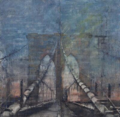 "Norbert Waysberg, '""Brooklyn Bridge""', 2017"