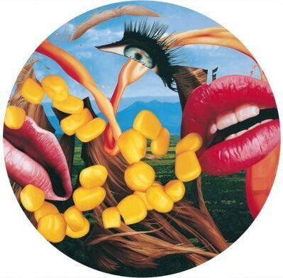 Jeff Koons, 'Lips (Plate)', 2012