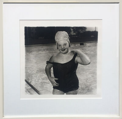 Diane Arbus, 'Untitled - Girl in Swimming Cap (11)', 1970-1971