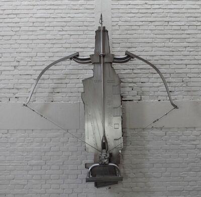 Li Hui, 'Transforming Aircraft Carrier-Crossbow', 2009