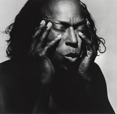 Irving Penn, 'Miles Davis, New York', 1986