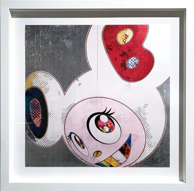 Takashi Murakami, 'DOB In Pure White Robe (Navy & Vermillion)', 2013