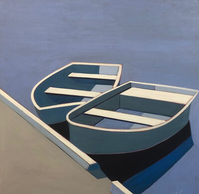 Melissa Chandon, 'Two Boats in Blue', 2019