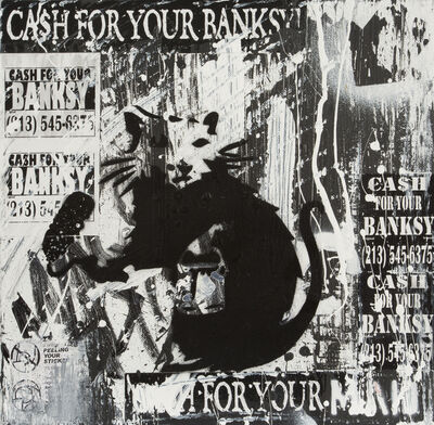Mad One, 'Cash for Your Banksy', 2015