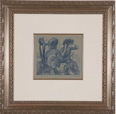 Edgar Degas, 'Chez la Modiste', C. 1888-1889