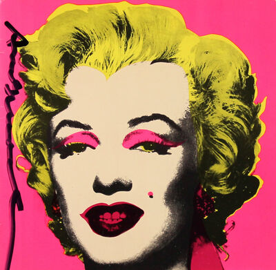 Andy Warhol, 'Marilyn Invitation (Castelli Graphics)', 1981
