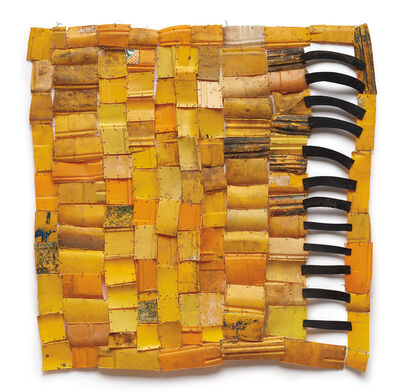 Serge Attukwei Clottey, 'Missing and Tracing Links IX', 2015