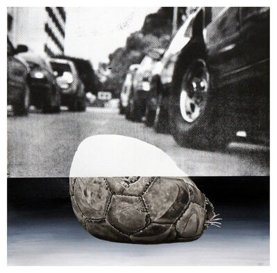 Marco Zamora, '7th and Westmoreland- Ball 1', 2015