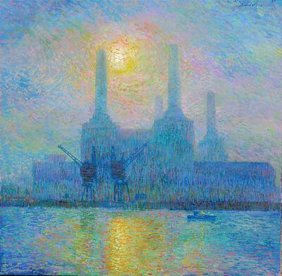 Juan del Pozo, 'Misty Battersea Sun', 2020
