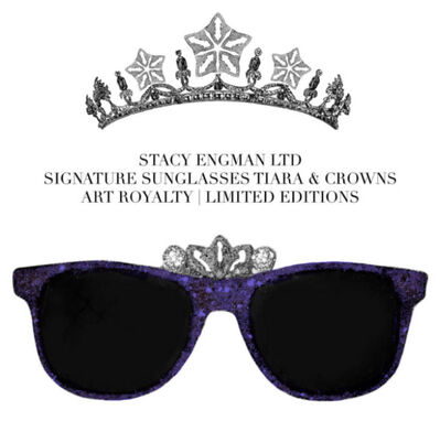Stacy Engman, 'Sunglasses-Crown Amethyst&Diamond Dust .50 CT Diamond Dust (diadem), 3 CT Amethyst Dust', 2019