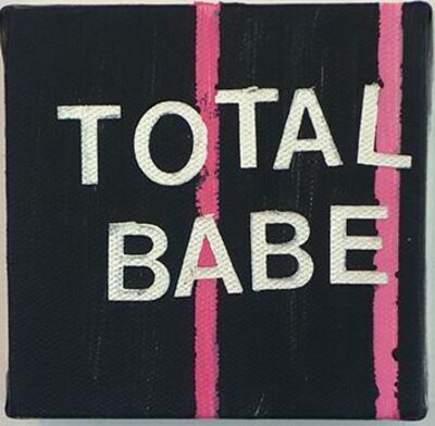 Betty Tompkins, 'Total Babe', 2015