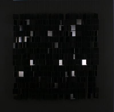 Julio Le Parc, 'mobile noir sur noir', 1960-1995