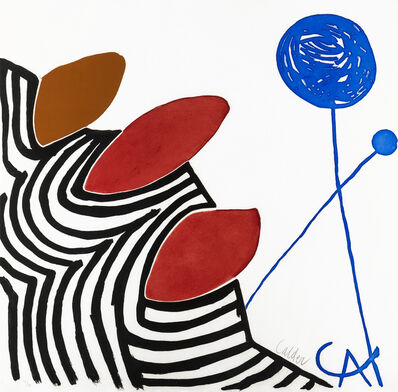 Alexander Calder, 'Presenza Grafica', 1972