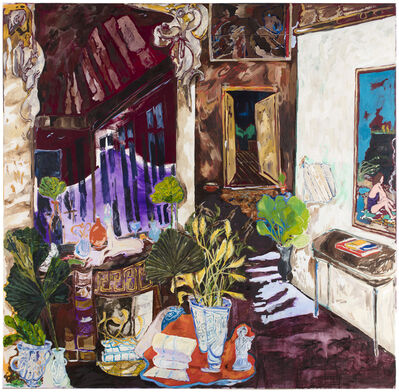 Karoliina Hellberg, 'Mirror and Pälsholm', 2018