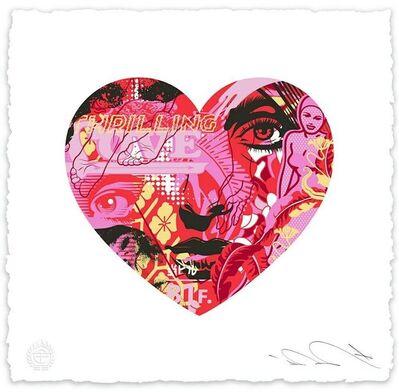 Tristan Eaton, 'Tristan Eaton Thrilling Love Audrey Print Valentine's Day Exclusive Print ', 2021