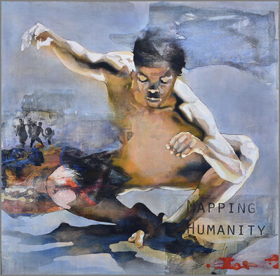 Bruce Clarke, 'MAPPING HUMANITY ', 2018