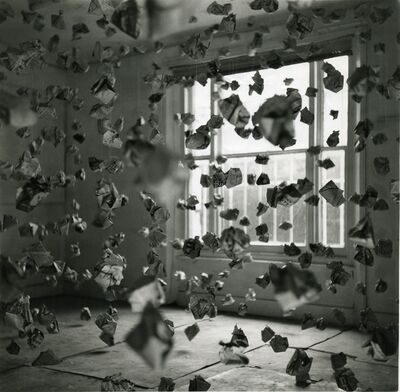 John Hilliard, '765 Paper Balls', 1969